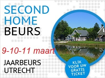 Expo Second Home in Utrecht gratis uitnodiging